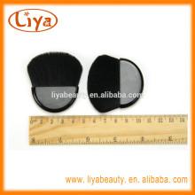 Heißer Verkauf Mini Make-up Kompakt Bürste für Kosmetik-Logo am Griff