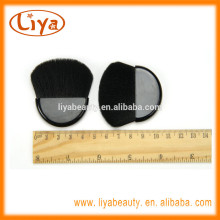 Hot sale mini makeup compact brush for cosmetics logo on handle