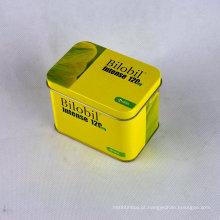 Custom Design Hinged Wholesale Rectangular Metal Tins