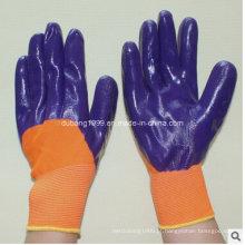 Luvas de nitrilo / Luvas de trabalho / Luvas de construção / Luvas de indústria-64
