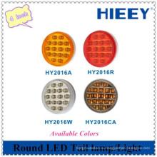 4-дюймовый круглый светодиодный индикатор фонаря / хвост / стоп-индикатор SMD для автомобилей повышенной проходимости