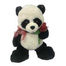 Felpa del oso panda de San Valentín