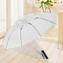 Wholesale OEM ODM LED Flashlight Custom Straight Umbrella with Printing Logo