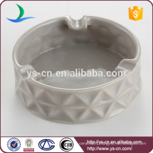 Manufacturer Fashion Gray Ceramic Ashtrays wholesale