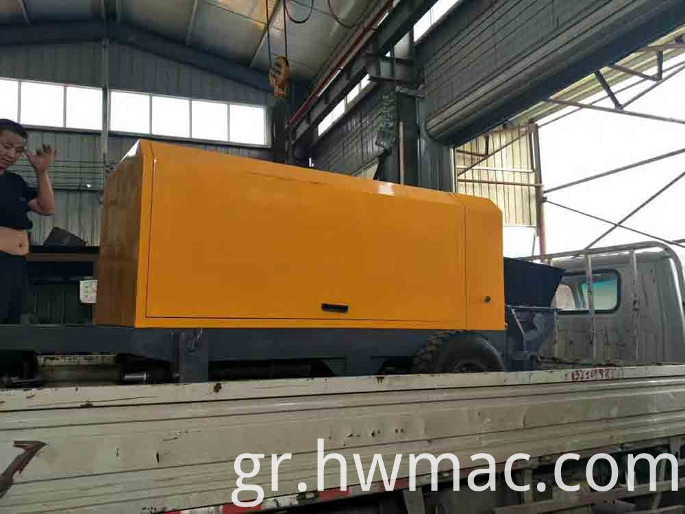 diesel engine concrete pump