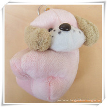 Pink Dog Plush Toy for Promotion