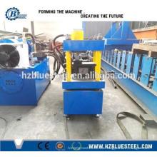 Estructura de acero de uso de acero Keel rodillo de laminación que forma la máquina, marco de calibre de luz que forma la máquina