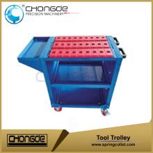Chariots à outils CNC BT30 BT40 Tool Trolley (type économique)