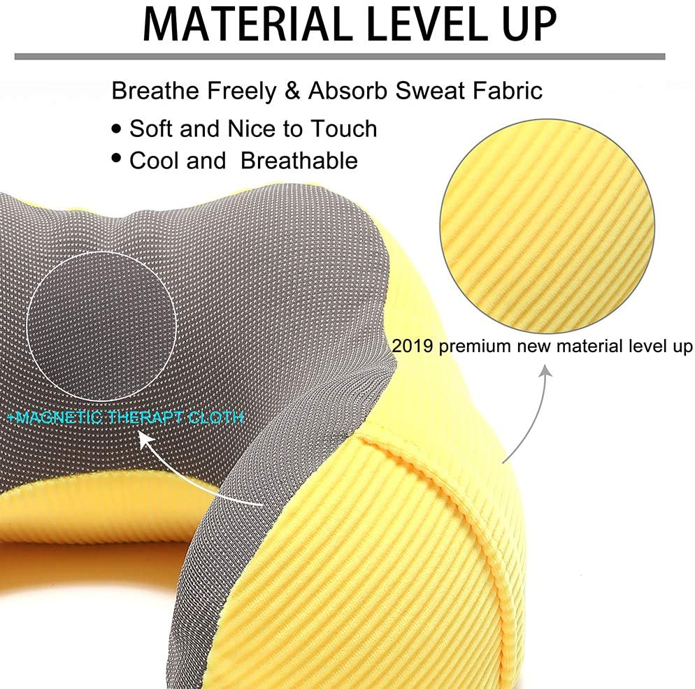 Travel Pillow Memory Foam With Bag