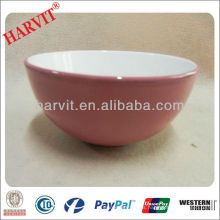 "Esmalte color de cerámica 6,5 ""bowl stock"