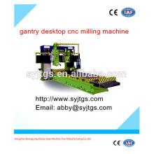 Alta velocidade usado pórtico desktop mini cnc fresadora para venda com boa qualidade