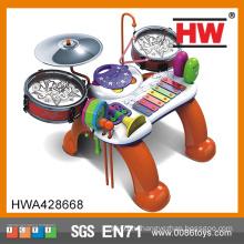 Высокое качество пластиковых игрушек барабана Детский музыкальный инструмент игры