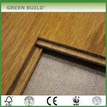 Vertikaler karbonisierter 15mm fester Bambusbodenbelag