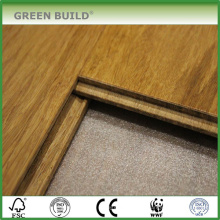 Piso de bambu sólido vertical de 15 mm