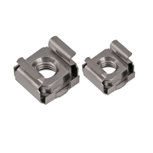 Square Lock Cage Nut Cassette nut cage nut with color zinc plated