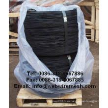 Negro recocido alambre de enfardar Tie
