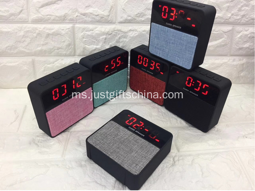 Logo Promosi Wireless Fabric Bluetooth Speaker