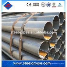 Tubo soldado do aço do carbono do melhor preço / tubulação soldada espiral de China