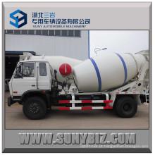 Dongfeng Rhd LHD Cummins Motor 6cbm 8cbm Concreto Caminhão Mixer Bomba