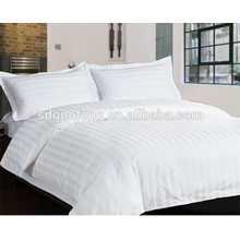 CVC50/50 40*40 240T 100 inch sateen stripe hotel cotton fabric textile, bed sheet fabric material , bedsheet fabric manufacture sateen stripe hotel cotton fabric textile, bed sheet fabric material , bedsheet fabric manufacture