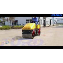 Rodillo de camino de asfalto hidráulico automático de 1 tonelada