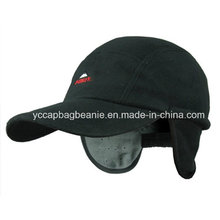 Warm Snow Winter Polar Fleece Baseball Cap with Earflap