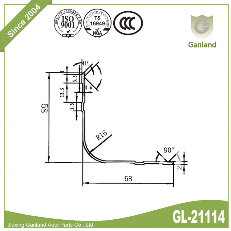 Outside Corner Bead GL-21114