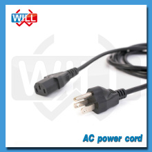 UL CUL approval cheap 3 pin Canada 10a 125v power cord with plug