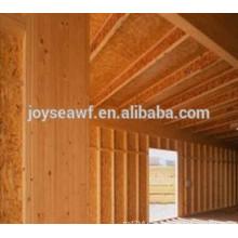 Casa de madera 1220x2440 MR WBP eco-friendly alta resistencia a la flexión OSB1 / OSB2 / OSB3