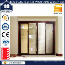 French Patio Exterior/Interior Glass Aluminium/Aluminum Sliding/Bi Folding Door