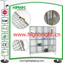 16 Doors Steel Wire Mesh Storage Lockers