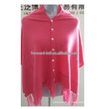 высокая мода на заказ с кнопкой дешево оптом шали