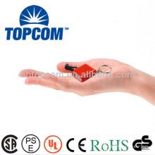 2 LEDs Mini Dynamo LED Taschenlampe TP-PH001