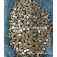 Diâmetro de venda quente de boa qualidade 10x10 mm PZT8 / pzt5 / pzt4 Piezo Pino de barra de cerâmica