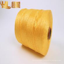 Polypropylene fiber special UV treatment 1-layer packaging baler cord