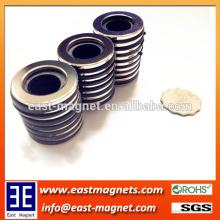 Ningbo east magnet's ring shape neodymium magnet for sale