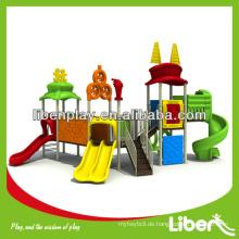 Sport Serie Kiddy Outdoor Spielplatz Ausrüstung LE.TY.006 für Vergnügungspark, wunderbare Spielplatz Struktur für draußen