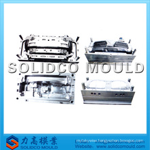 plastic car headlight mould
