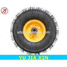 boa qualidade 14 polegada carrinho roda pneus de borracha maciça