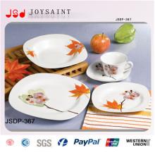 Heißer Verkaufs-quadratisches Abendessen-Set (JSD116-S028)