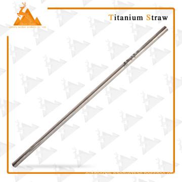 Outdoor Camping Lightweight Straw New Titanium Straw