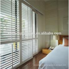 PVC- und Lindenholzplantagenfensterläden, die auf alibaba verkaufen