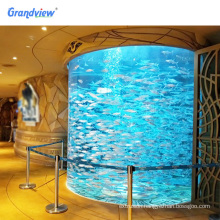 High quality cylinder aquarium manufacturers