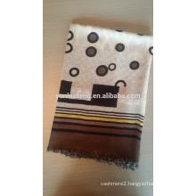 inner mongolia wool scarf.shawl printed