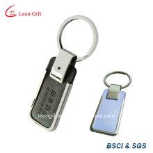 Кольцо для ключей пользовательские пу с металлом