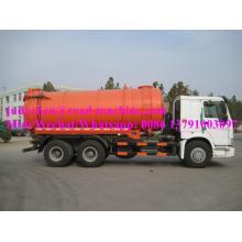 Sinotruk HOWO Вакуумный грузовик 10CBM Euro III