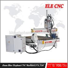 ELE 1325 modèles 3D machine de routeur cnc / machine de gravure de pierre cnc ultrasonique