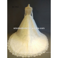 Professional China factory lace long sleeve short wedding dresses one piece girls party dresses
