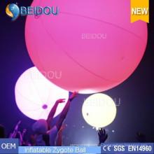 Светодиодная подсветка Touchable рекламы Переполненные воздушные шары Надувные интерактивные шары Zygote