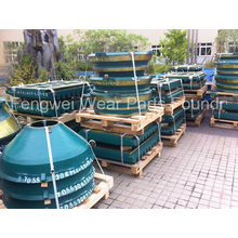 High Manganese Cone Crusher Parts with Longer Service Life